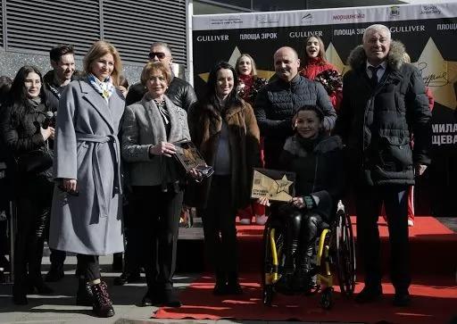 Людмила Турищева, Єлизавета Мерешко і Анатолій Дем'яненко. фото НКСІУ